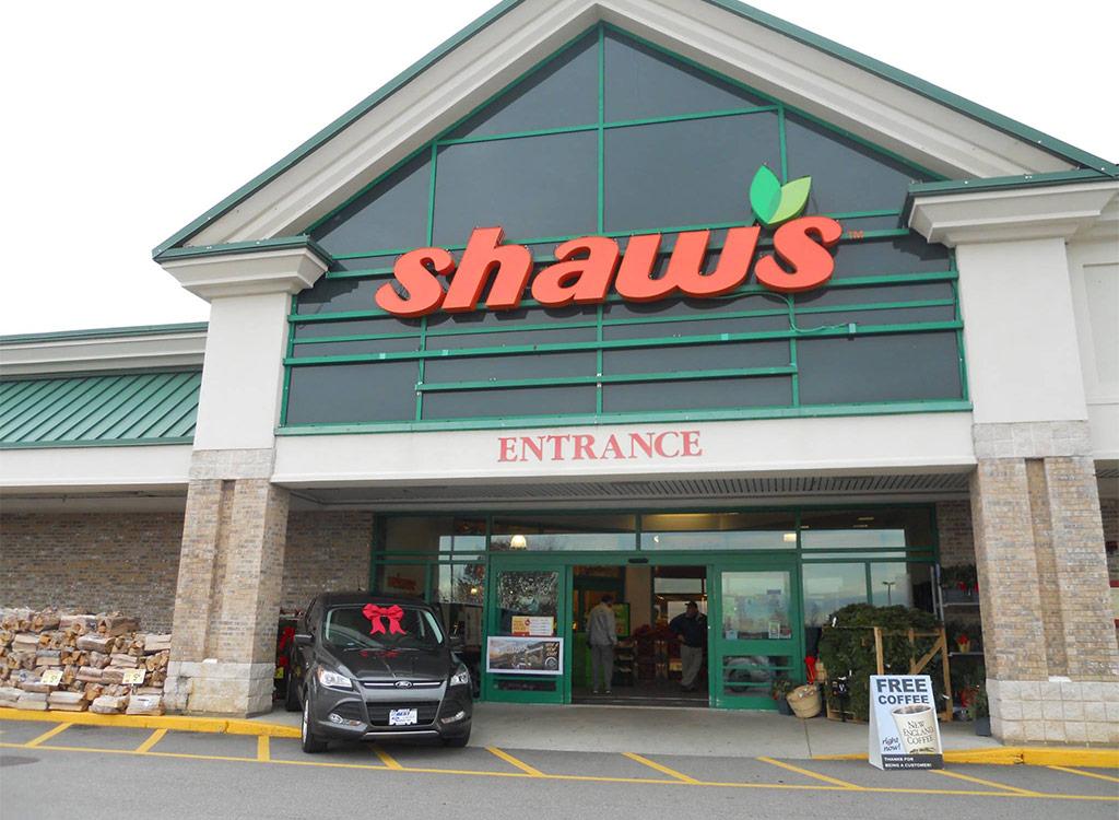 Shaw's supermarket vermont