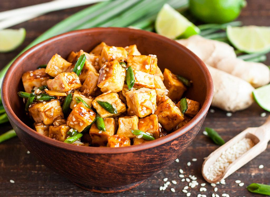 spicy tofu steak - omega 3 foods