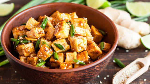 spicy tofu steak
