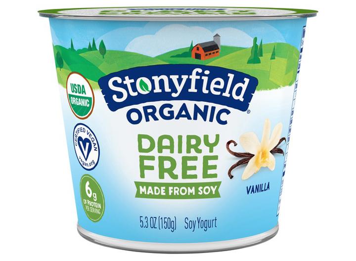 Stonyfield organic dairy free yogurt