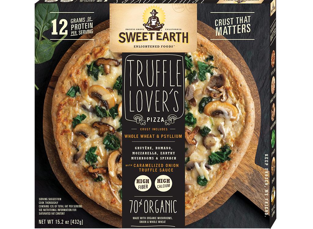 Sweet earth truffle lovers pizza