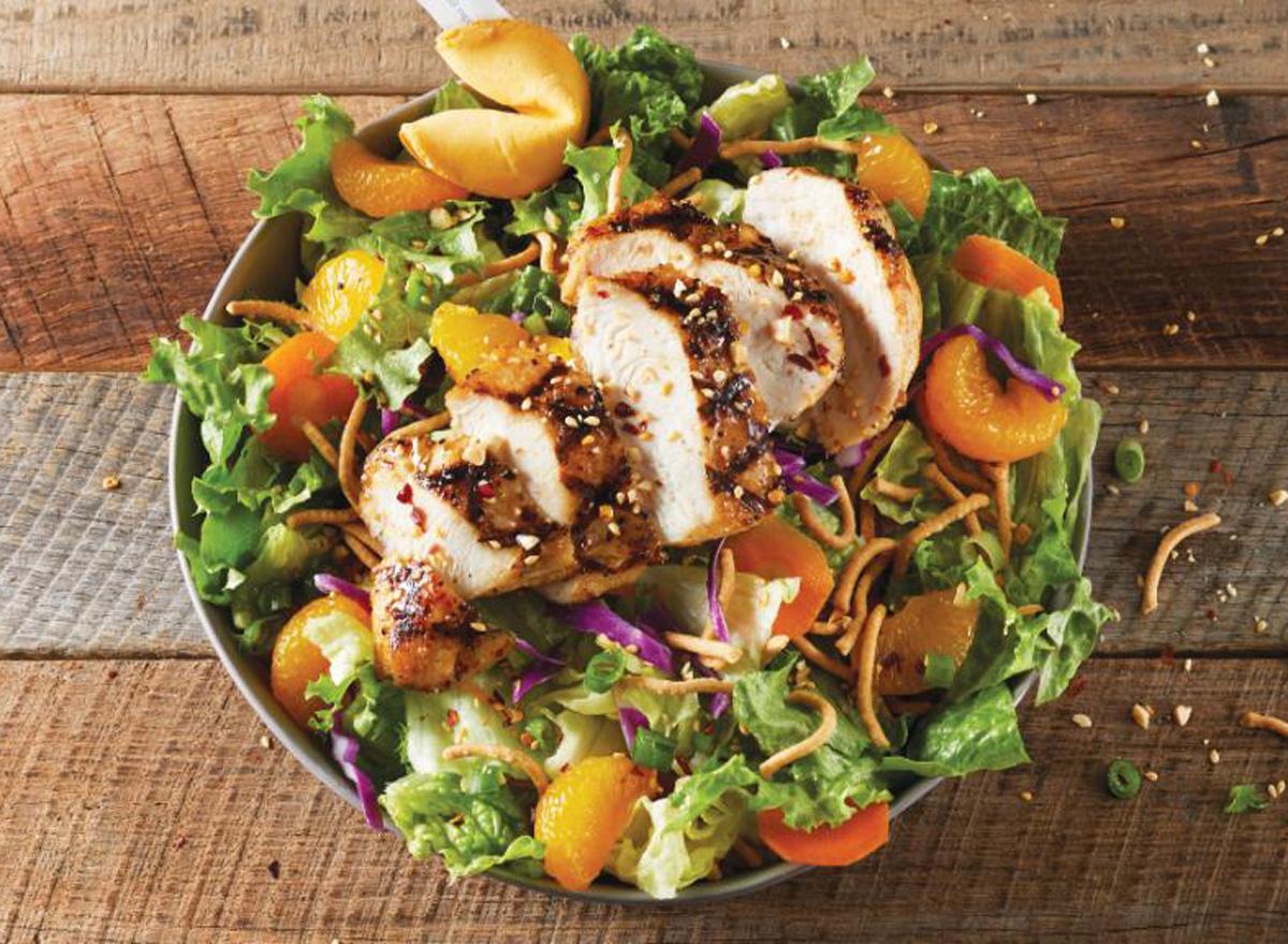 tgi fridays chinese chicken salad
