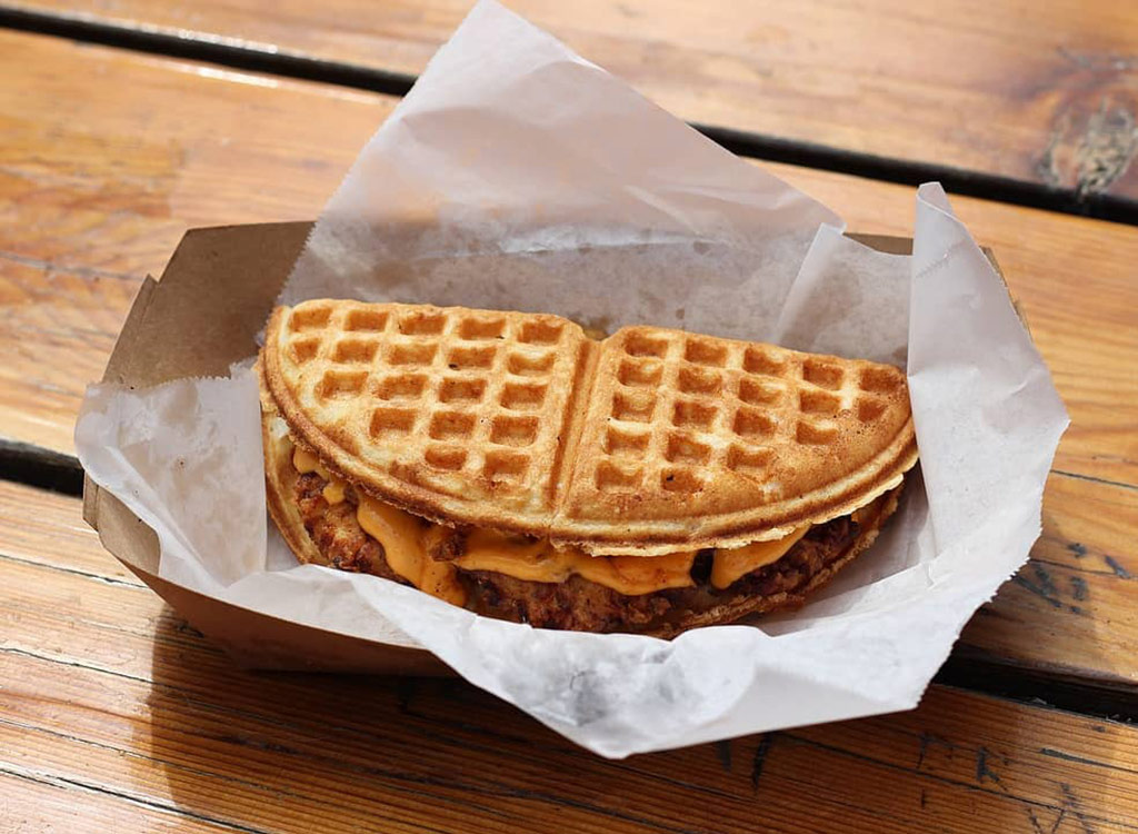 The waffle bus food truck