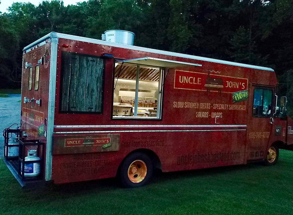 Uncle john's food truck