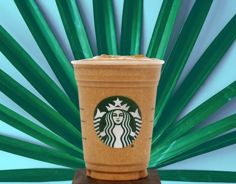 Starbucks cacao protein blended cold brew