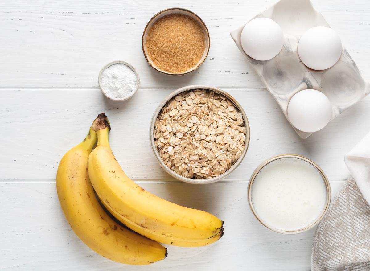 oat banana egg pancakes