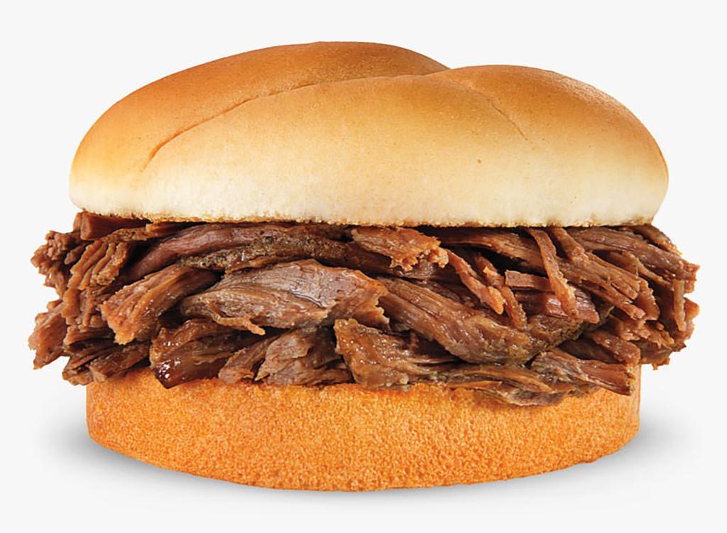 Beef pot roast sandwich