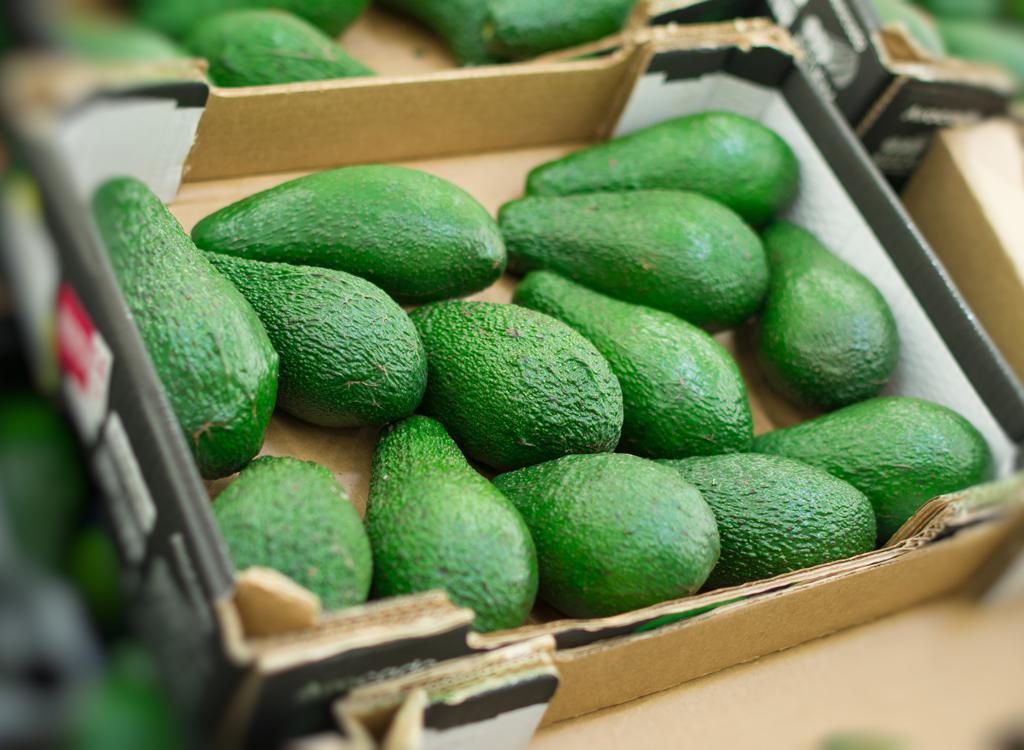 Bulk box avocados