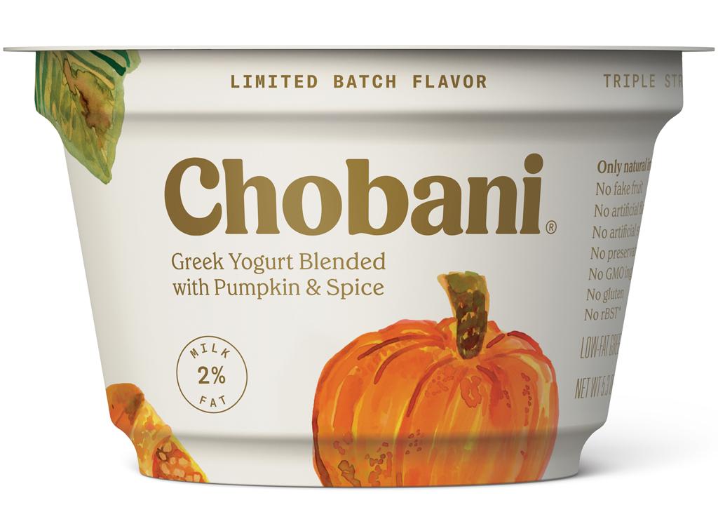 chobani blended pumpkin spice