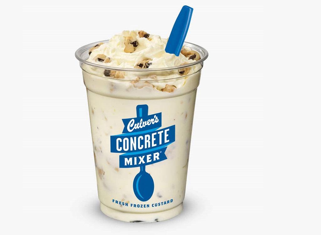 Crazy for cookie dough concrete mixer