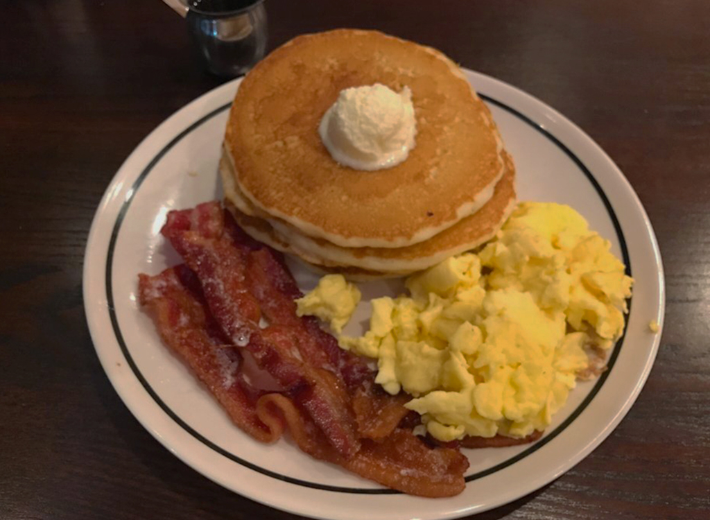 Corner bakery cafe eggs and bacon