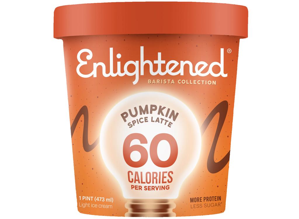 enlightened pumpkin spice latte