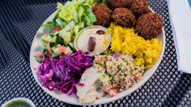 Falafel Colorado garbanzo restaurant