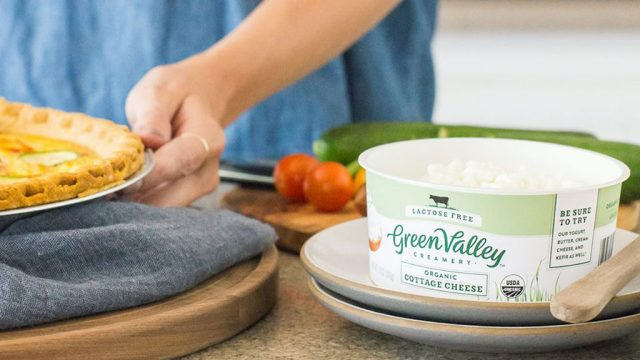 Green Valley Creamery Lactose Free cottage cheese