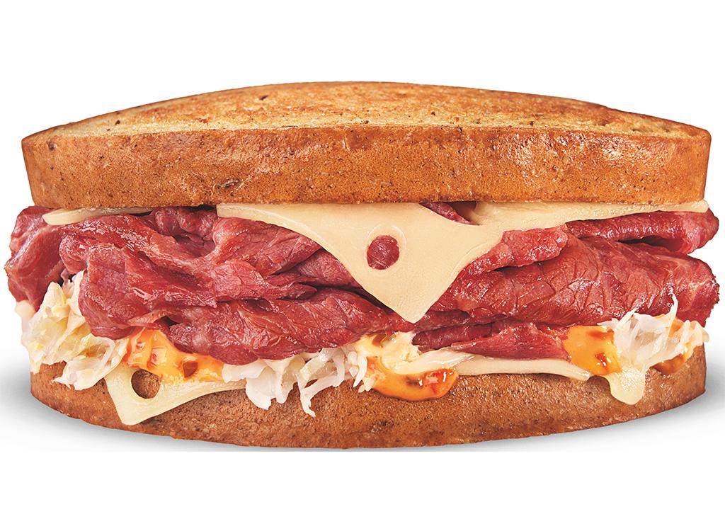 Grilled ruben melt sandwich