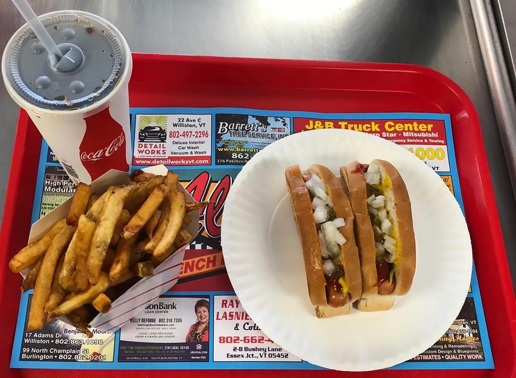 Hot dog vermont