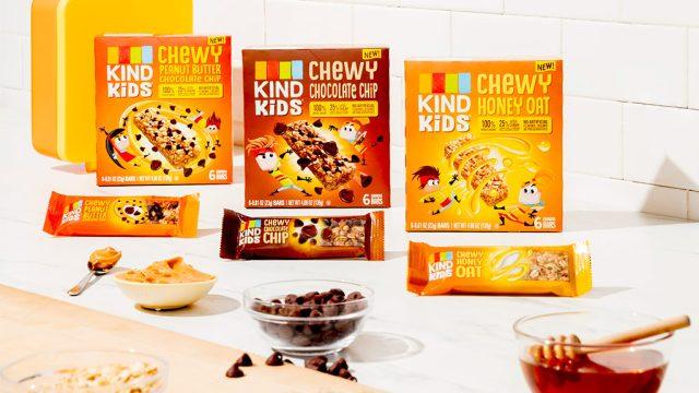 Kind kids granola bars