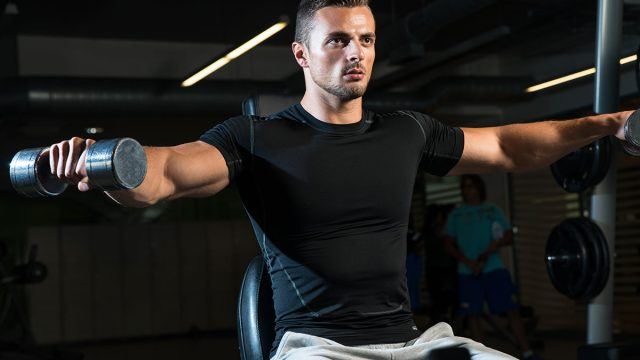 lateral workout man