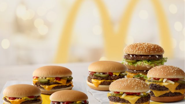 Mcdonalds hamburgers