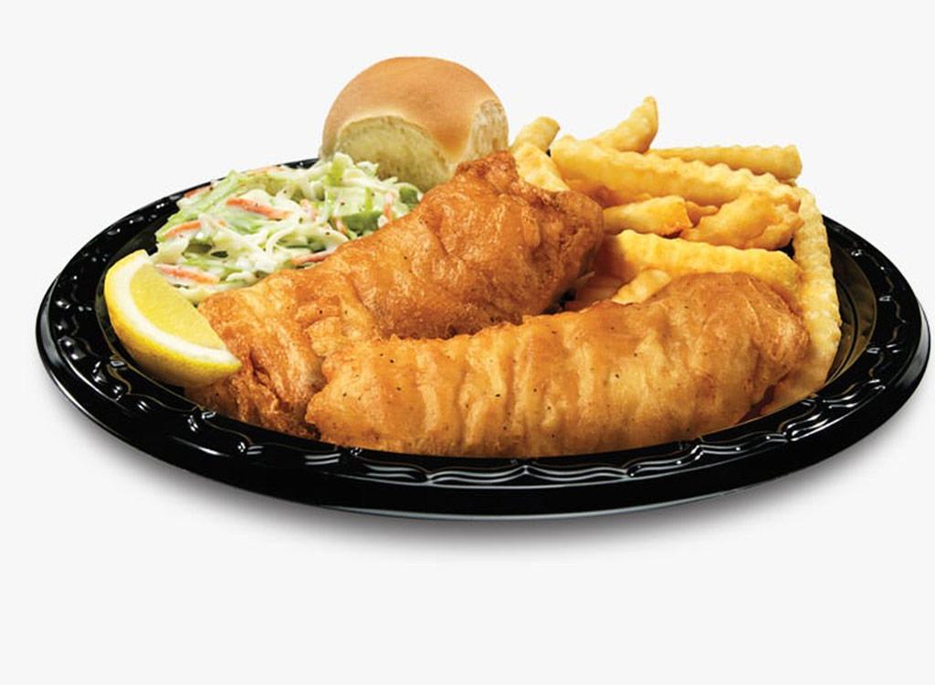 North atlantic cod dinner