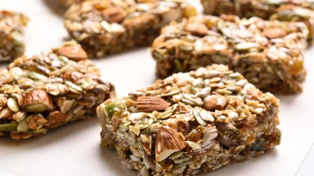 nut and seed energy bars