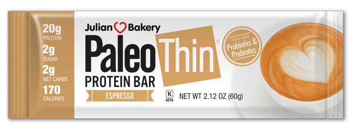 Paleo thin espresso bar