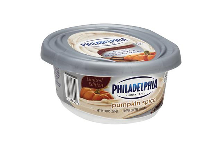 Philadelphia pumpkin spice cream cheese