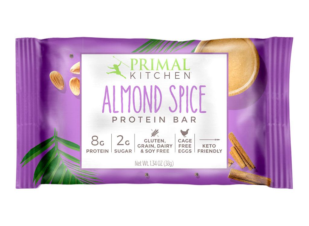Primal kitchen almond spice protein bar