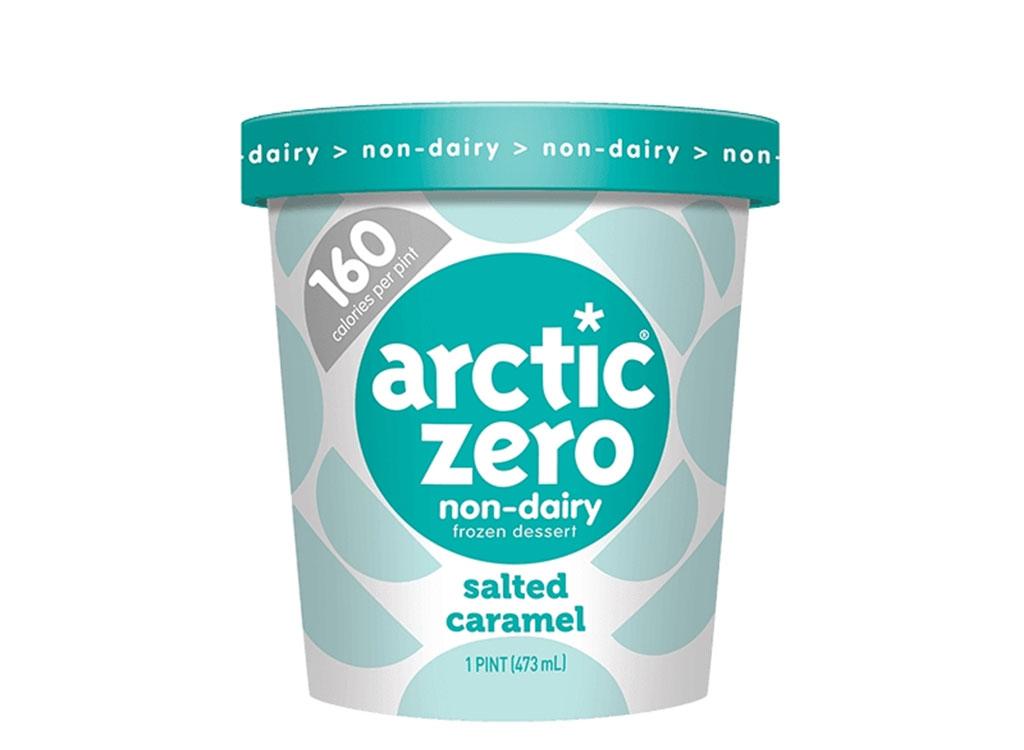 Salted caramel non dairy frozen dessert