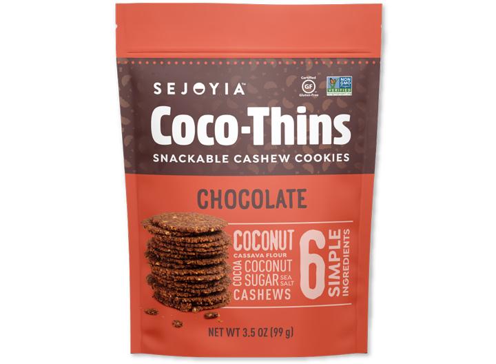 Sejoyia chocolate cocothins cookies