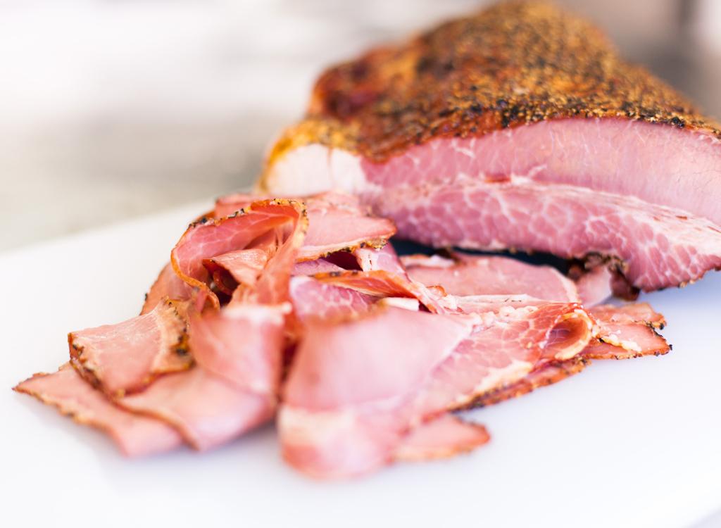Sliced deli meat