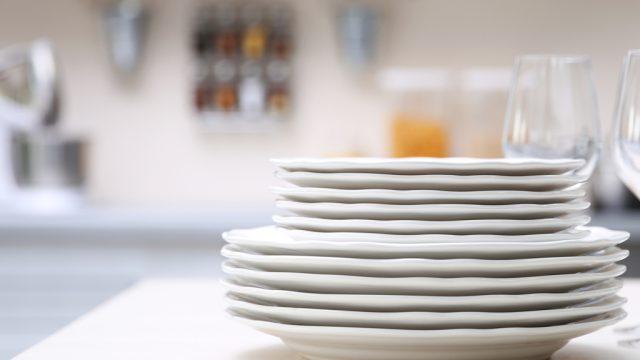Small dinner plates