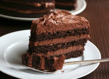 Swerve chocolate cake