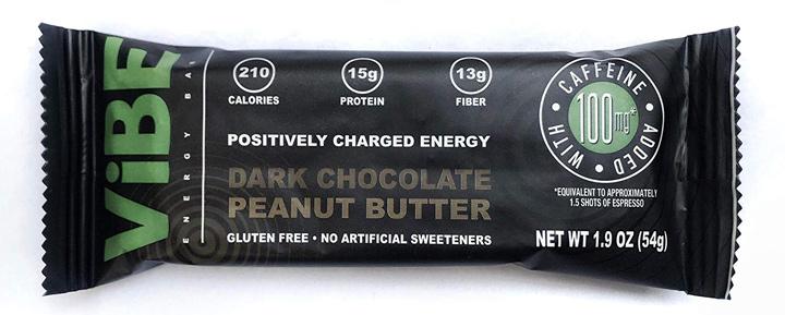 Vibe energy bar peanut butter chocolate