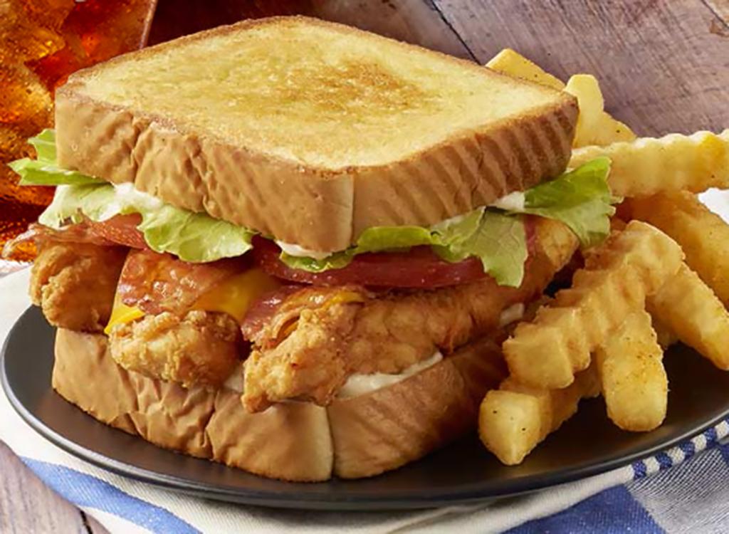 Zaxby's club sandwich