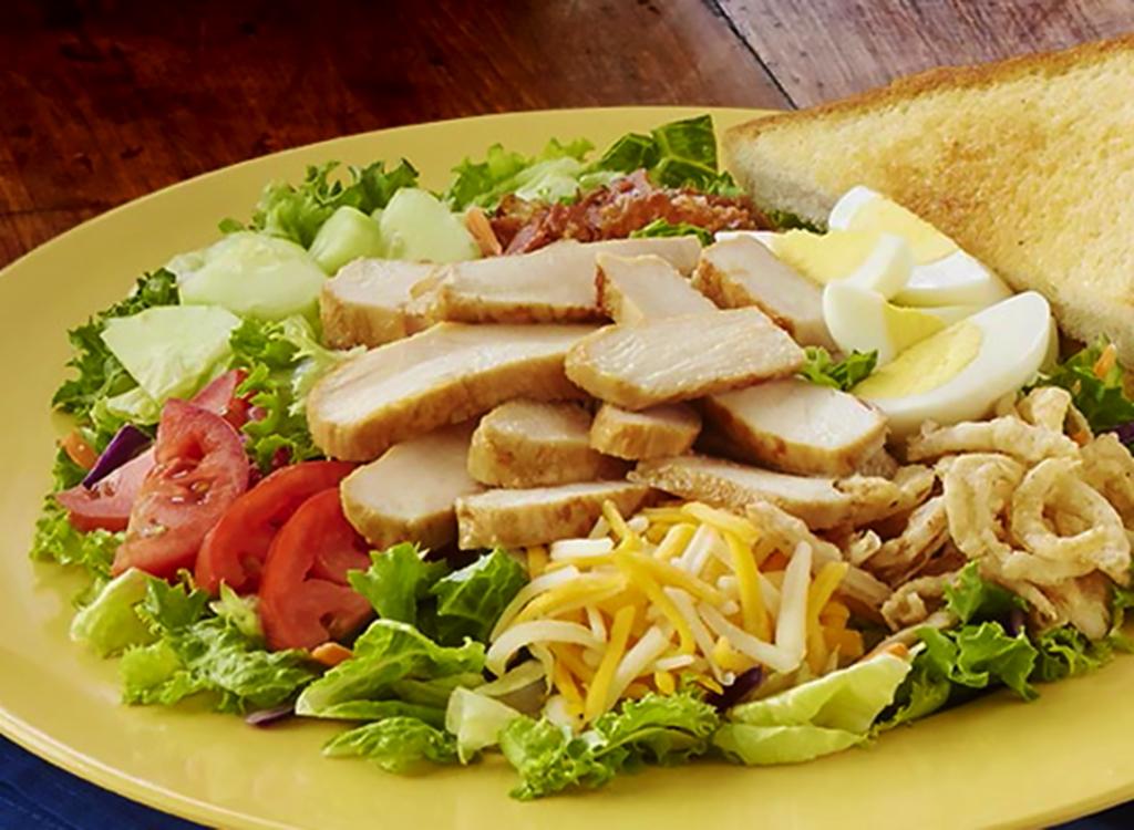 Zaxby's fried cobb salad