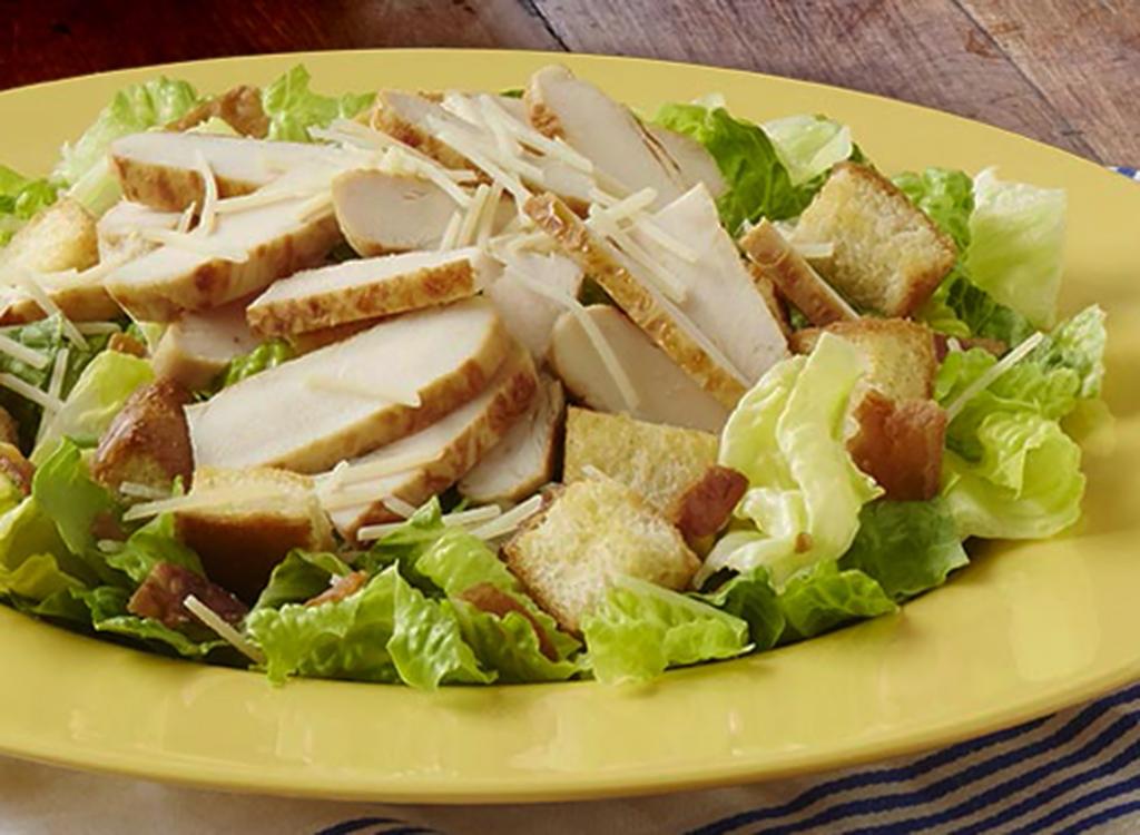 Zaxby's garden caesar salad