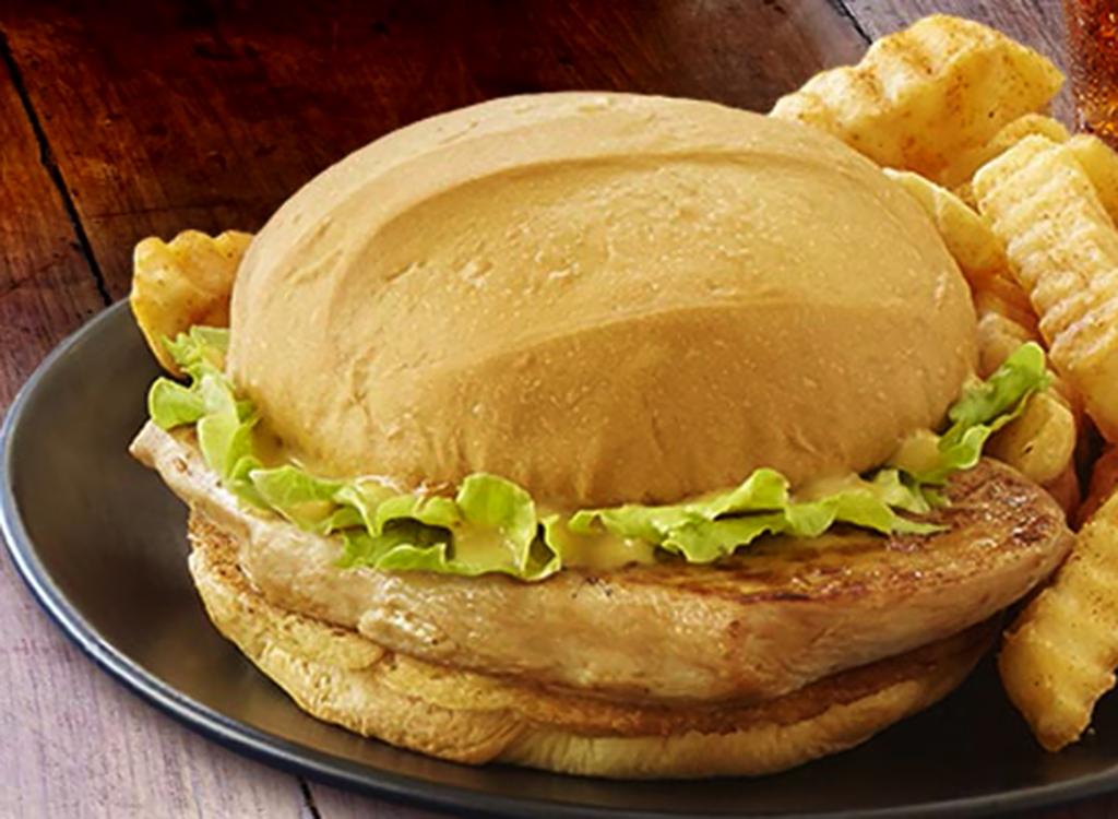 Zaxby's grilled chicken sandwich