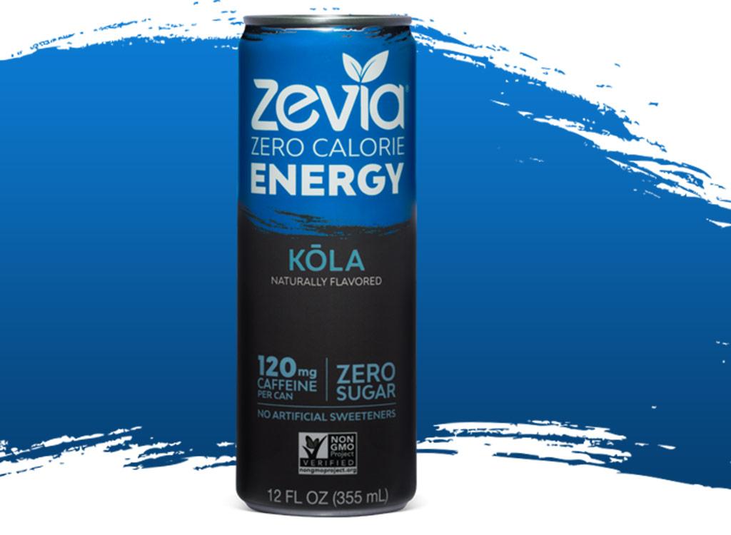 Zevia zero-calorie energy drink
