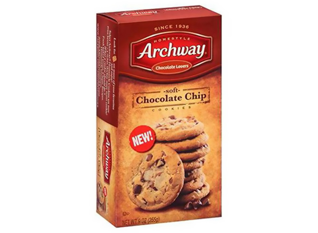 Archway soft chocolate chip cookies