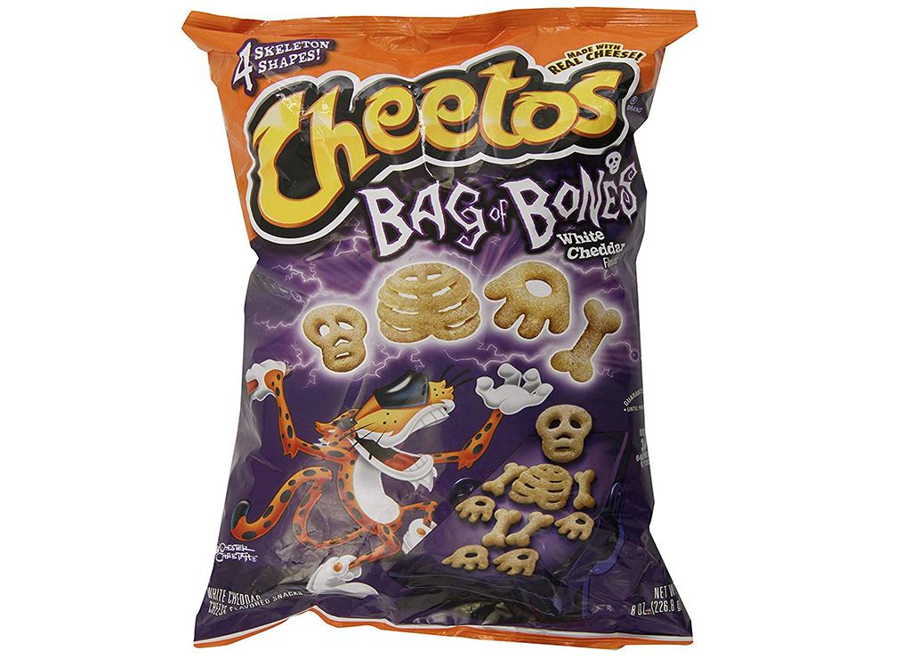 Cheetos bag of bones