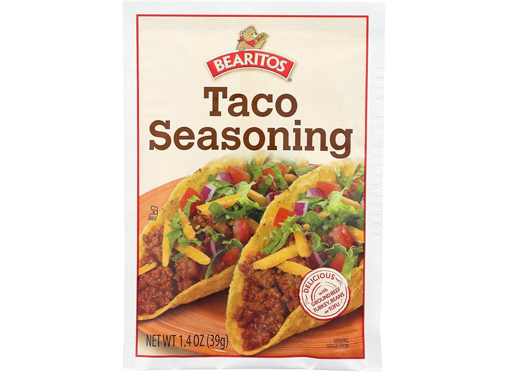 Bearitos taco seasoning mix