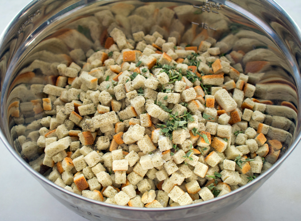 Dry Bread Cubes