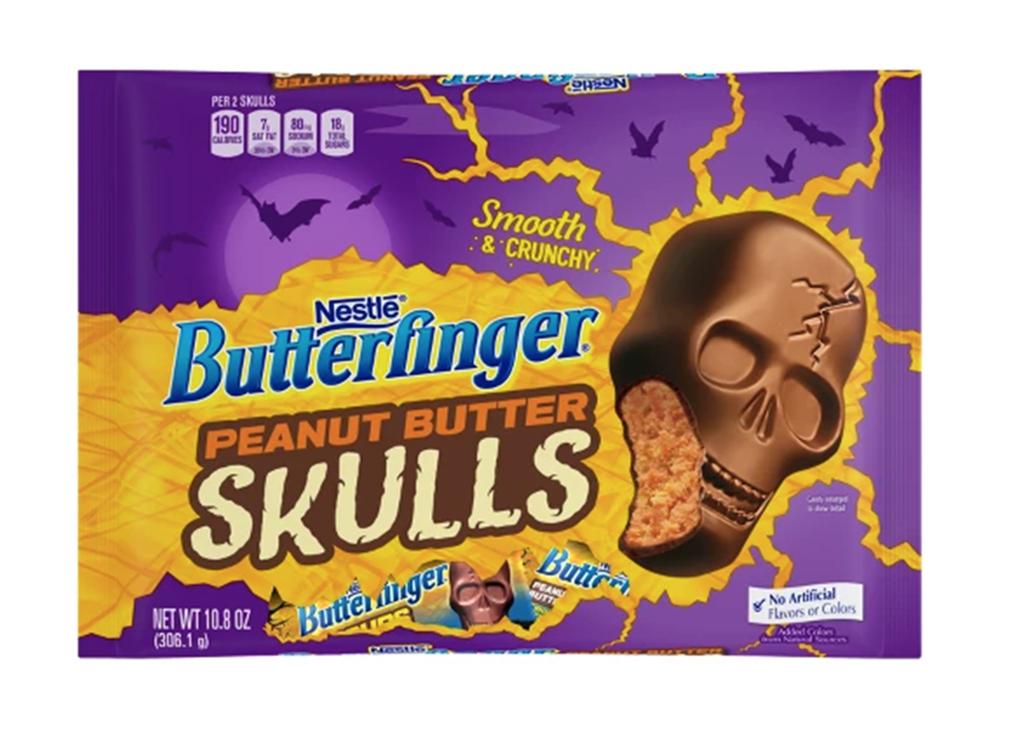 Nestle butterfinger peanut butter skulls