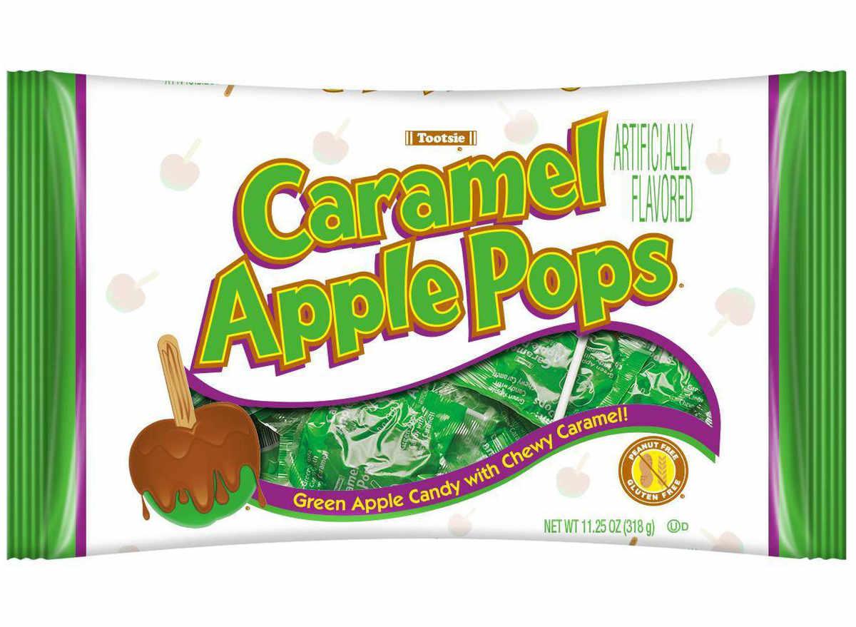 Caramel apple pop