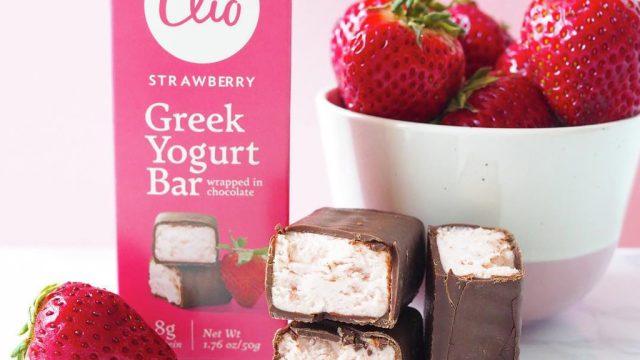 Clio greek yogurt bars