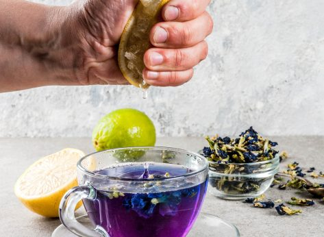 Color changing tea