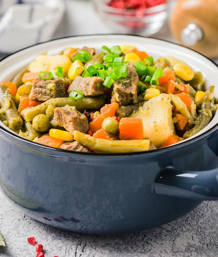 Crock pot leftovers
