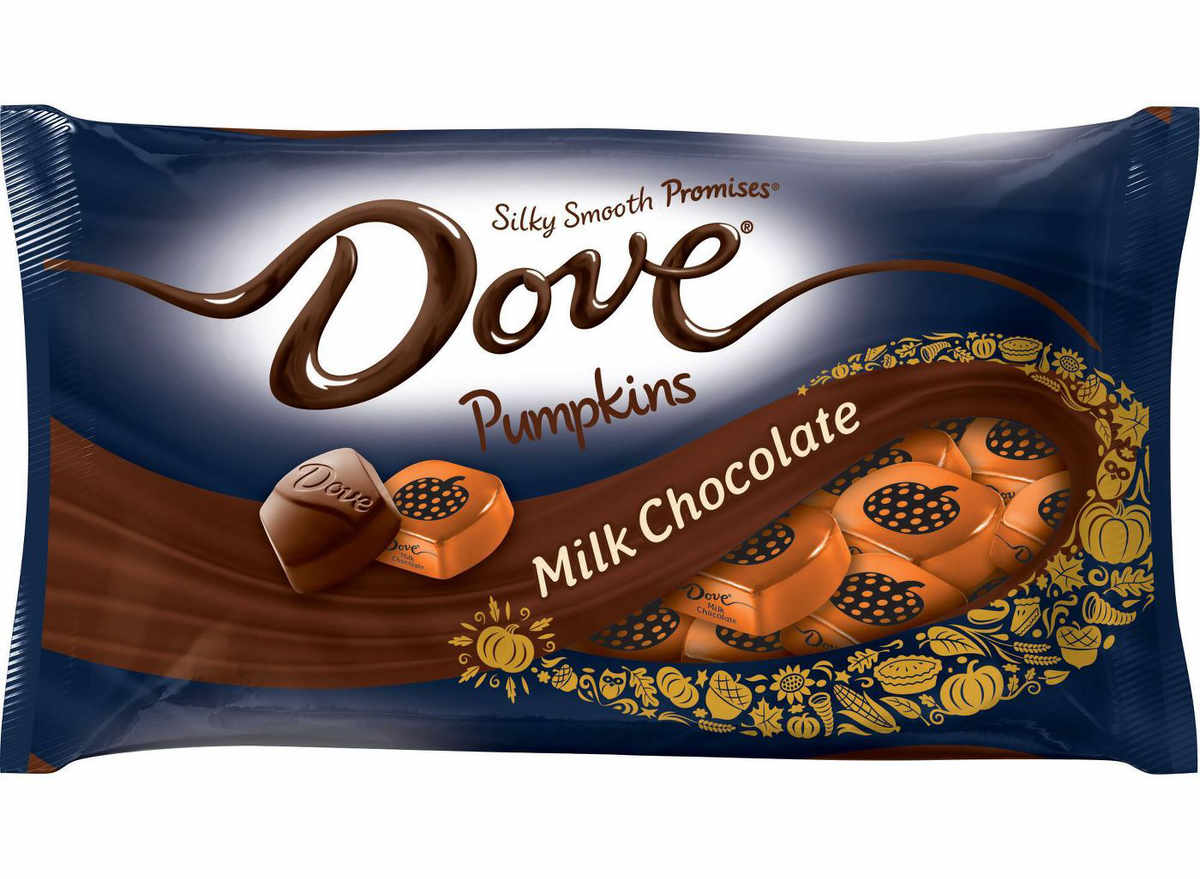 Dove milk chocolate squares
