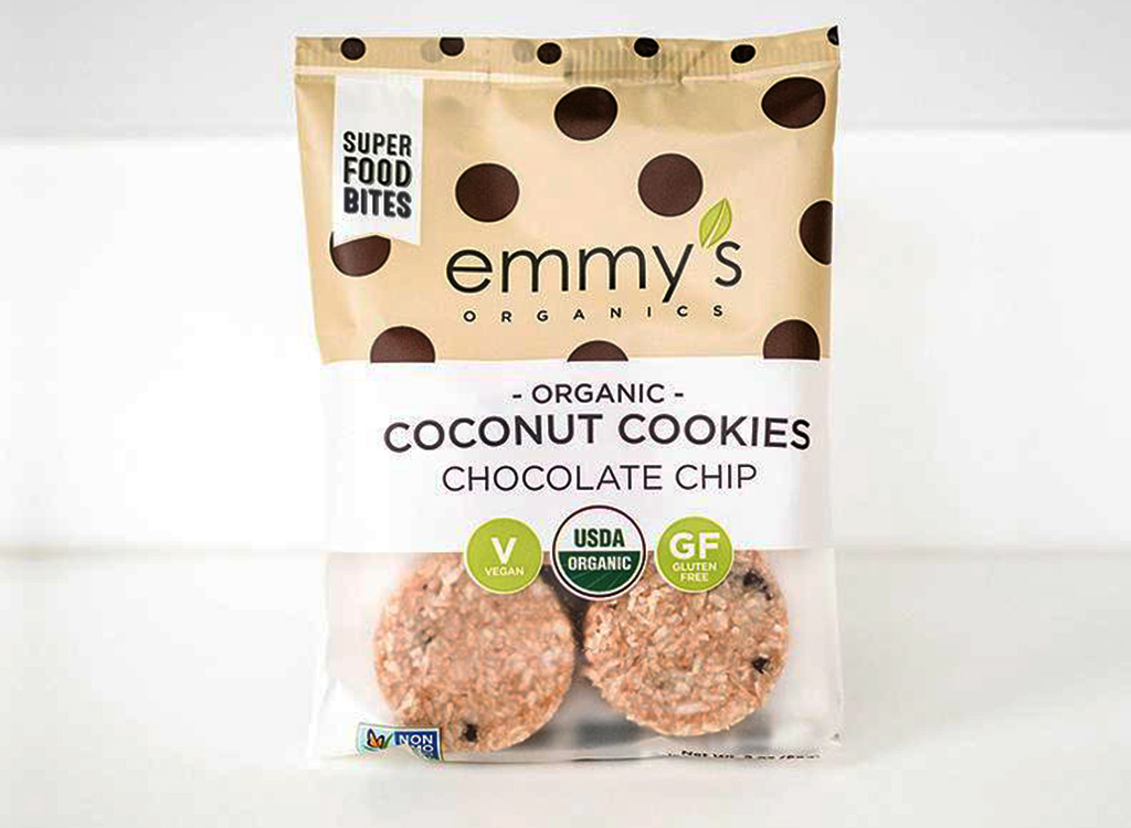Emmy's organic coconut chocolate chip cookie